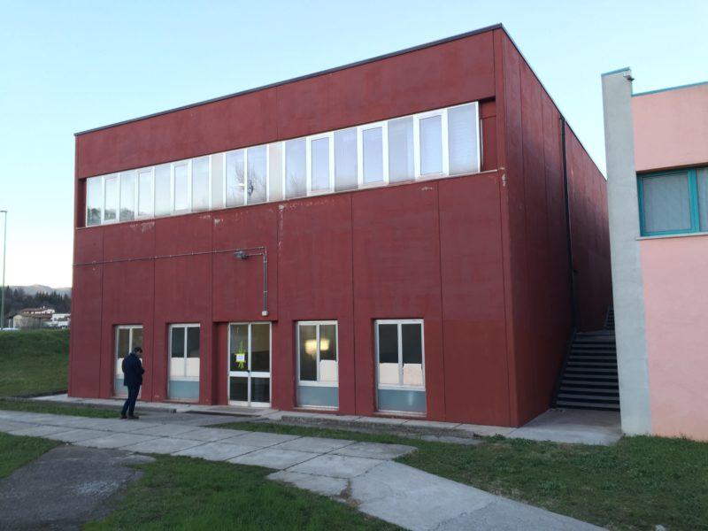 Progetto di ampliamento palestra Liceo De Andrè
