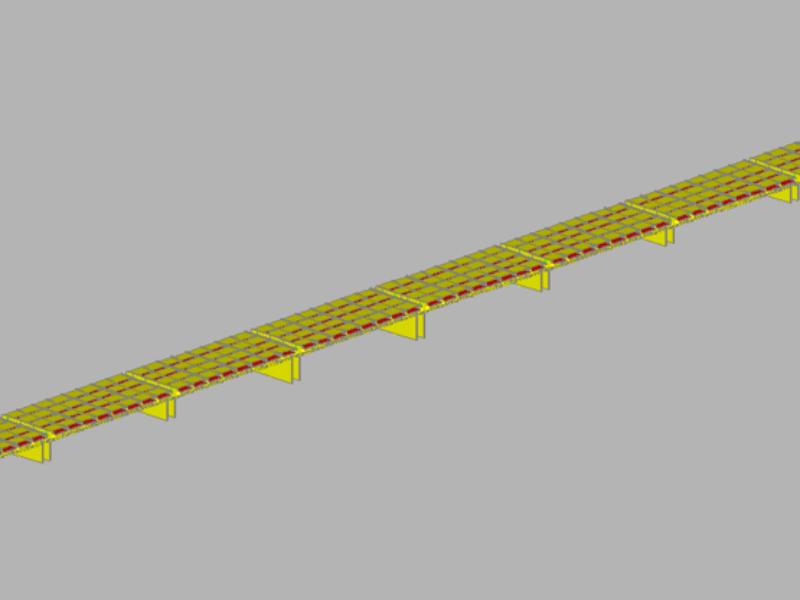 Modello FEM ponte